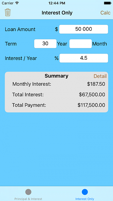 Loan Calc - Financial app (Early payoff)-interest-only.png