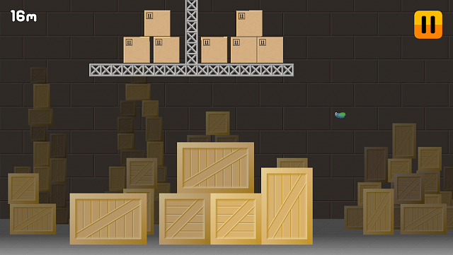 Fly in the Warehouse - endless runner with the fly trying to survive in the warehouse [Free Game]-appstore_1136x640_2.png
