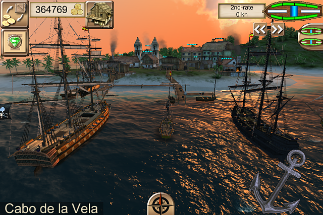 The Pirate: Caribbean Hunt - new free piracy game - iPhone