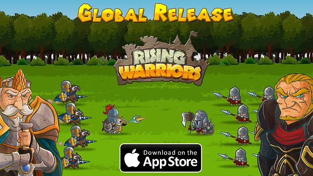 Rising Warriors - Global Launch Today 80 vs 80 Battle System (By FredBear Games)-global-release.jpg
