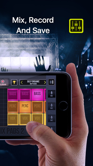 DJ Mix Pads 2 - user-firendly app for music creation