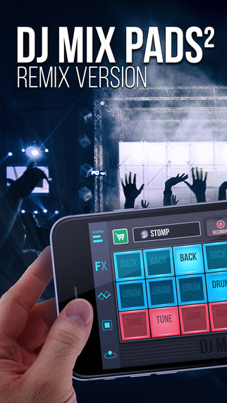 DJ Mix Pads 2 - user-firendly app for music creation-screen322x572-3.jpeg