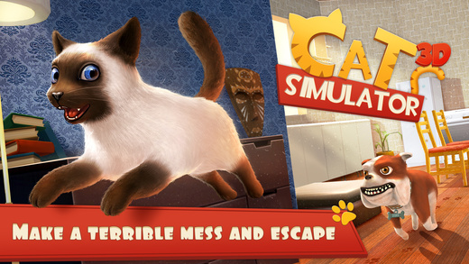 Cat Simulator 3D - Pet Chaos Chase (By Akadem GmbH)-screen520x924.jpeg