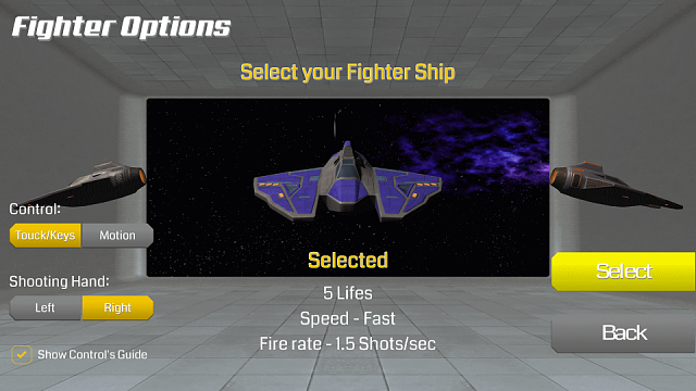 Rogue Jet Fighter [GAME][FREE]-rogue_options.png