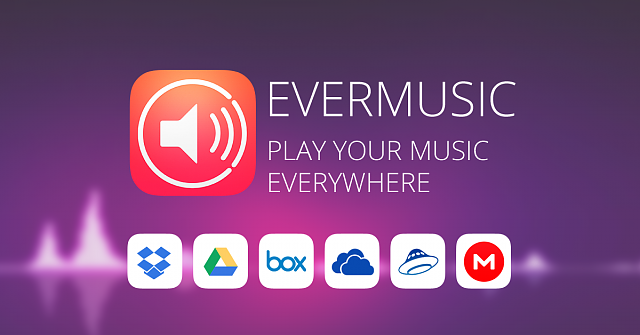 Evermusic - cloud music player & downloader, audio books from Dropbox, Box and more-facebook-ad-2.png