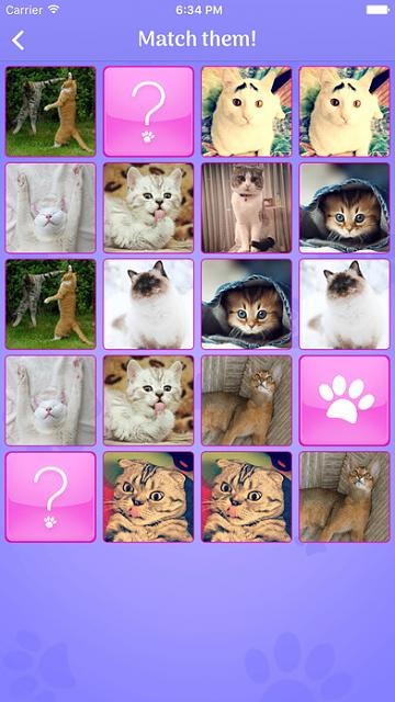 Cats Memory - Cute Cats Memory Match Game [Free]-screen696x696.jpeg