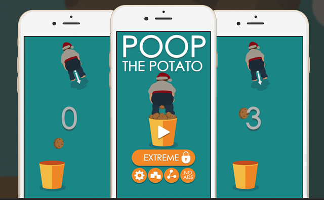**** the potato a christmas funny game-poop.png