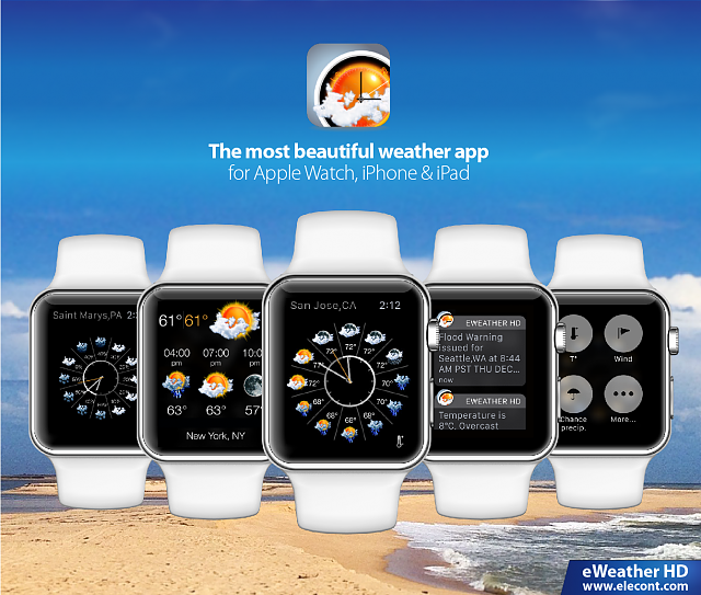 eWeather HD - weather app for Apple Watch, iPhone and iPad-eweather-hd-3-6-best-weather-app-glance-apple-watch-5.png