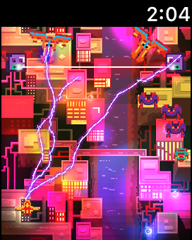 Wing Shooter: real lightning shooter on Apple Watch (by Cakeogame)-img_2382.png
