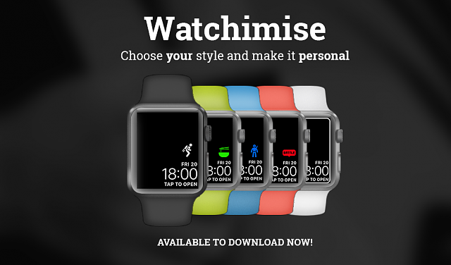 Watchimise - App To Customise Your Apple Watch!-twitter.png