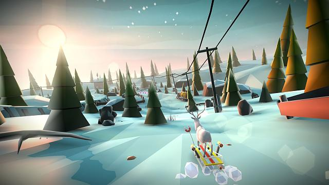 Animal Adventure: Downhill Rush - Let's grab your sleds and start a winter journey [Game][Free]-screen1_gen.jpg