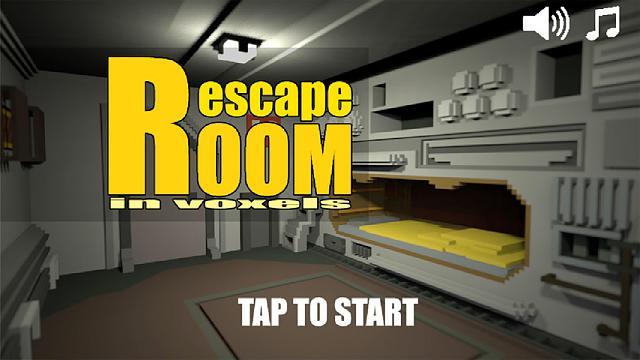 Room escape in voxels - Point&click and logic puzzle adventure game-1.jpg