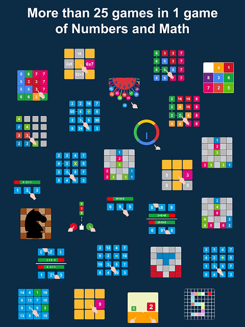 Numbers Planet: Games and Puzzles-ipad2.png