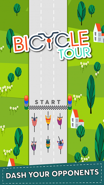 Bicycle Tour - A top down and Roadrash for cyclists!-ip7-01.png