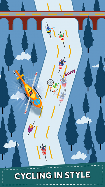 Bicycle Tour - A top down and Roadrash for cyclists!-ip7-04.png