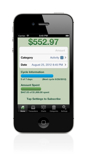 Spense expense tracking app allows multiple people to share instantly synced transactions-expense-journal-home-small.jpg