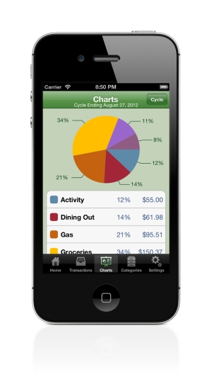 Spense expense tracking app allows multiple people to share instantly synced transactions-expense-journal-charts-smalll.jpg