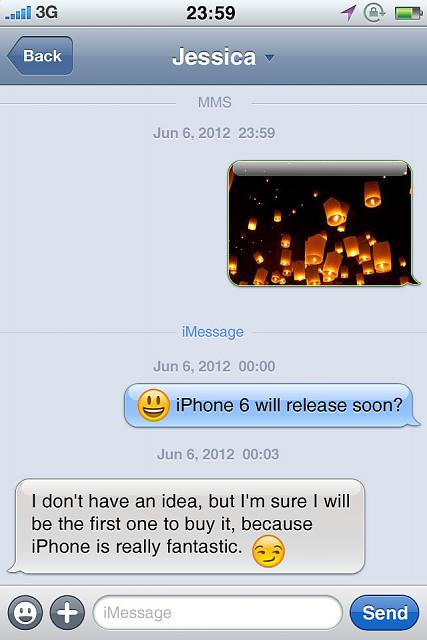 GO SMS - a great replacement with Messaging App on Cydia (No