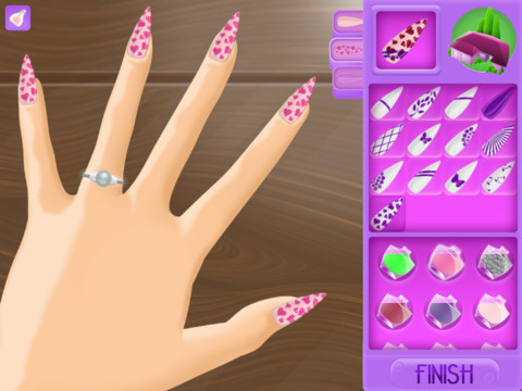 My nail salon free new game by webelinx makes all girls for A list nail salon game