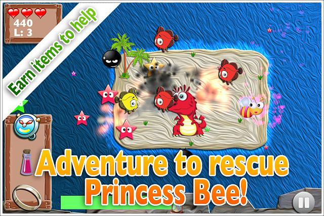 Mega Bee - Fast collection arcade game. My FREE debut indie title!-ss-island.jpg