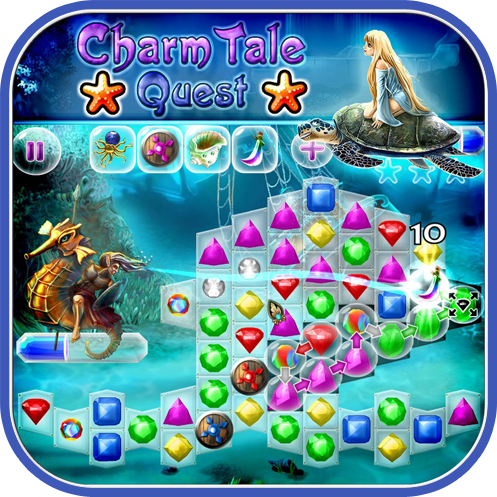 Charm Tale Quest - by Puzzle Lab (iPad, iPhone and iPod touch)-game-screenshot.png