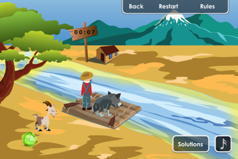 The River Tests Pro Collection Of River Crossing Puzzles - River game