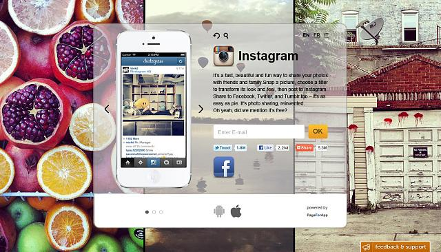 [PLS FEEDBACK!] Create Launch&Landing pages for mobile apps in 5 minutes-instagramm_2.jpg