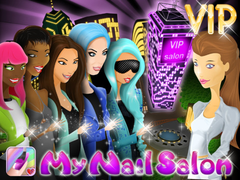 Free My Nail Salon Vip New Ipad Game By Webelinx For