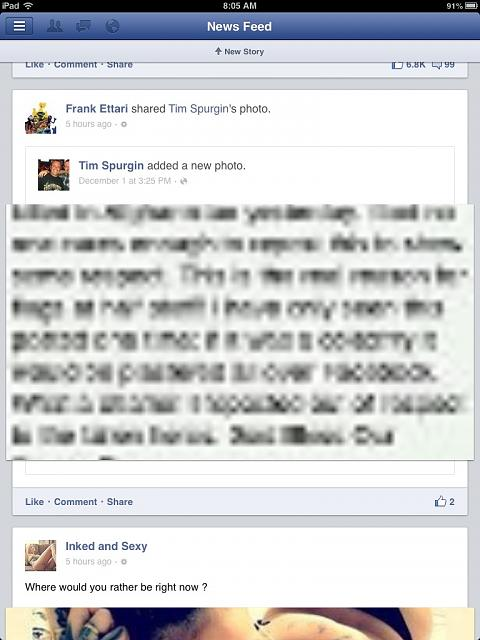 Facebook pictures blurry - iPhone, iPad, iPod Forums at