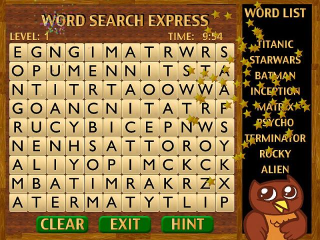 'Word Search Express' for iPad - 300 Movies and TV Shows to find-appimg800.jpg