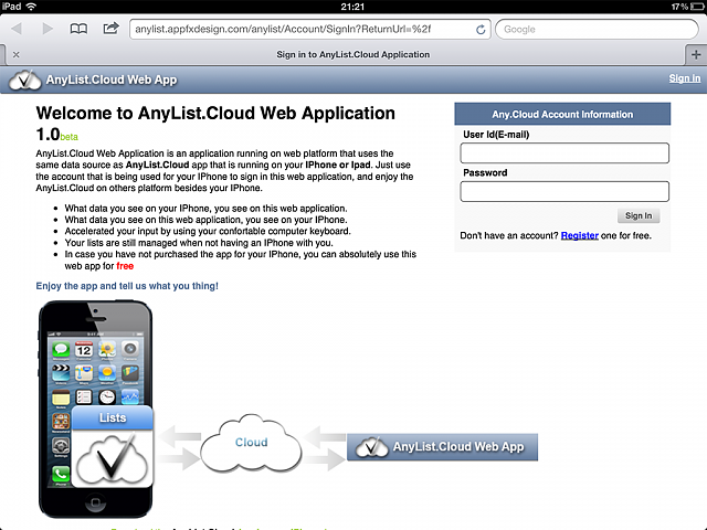[New App] AnyList.Cloud (World most advanced list for multiple purposes)-webapp1.png