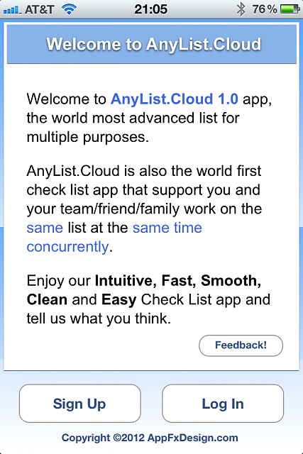 [New App] AnyList.Cloud (World most advanced list for multiple purposes)-image1.png
