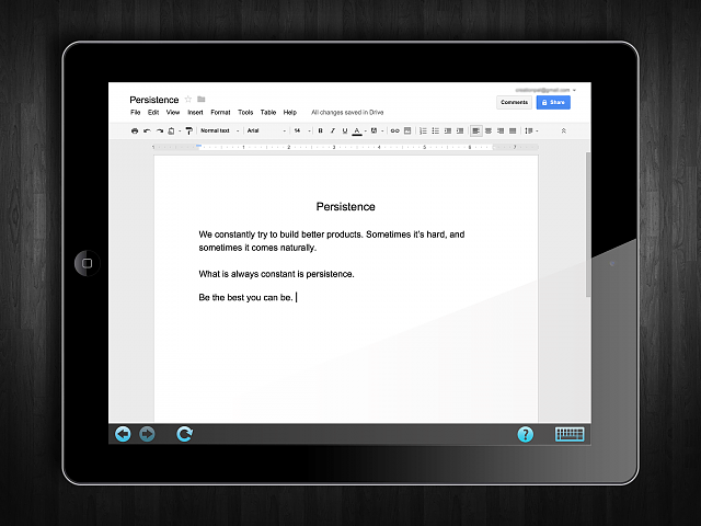Appser for Google Docs - runs web Google Docs on your iPad-appser-screenshot-3.png