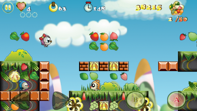Monko Jumpo: Super Mario-like 2D Platformer-monko-jumpo-iphone5-screenshot-1.png