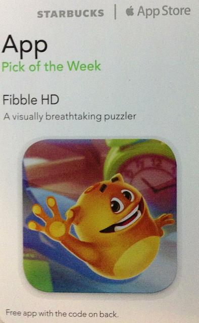 Fibble HD promo codes courtesy of Starbucks App of the Week-imageuploadedbytapatalk1359383452.199072.jpg