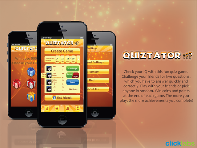 New Application Quiztator at iTunes-quiztator.png