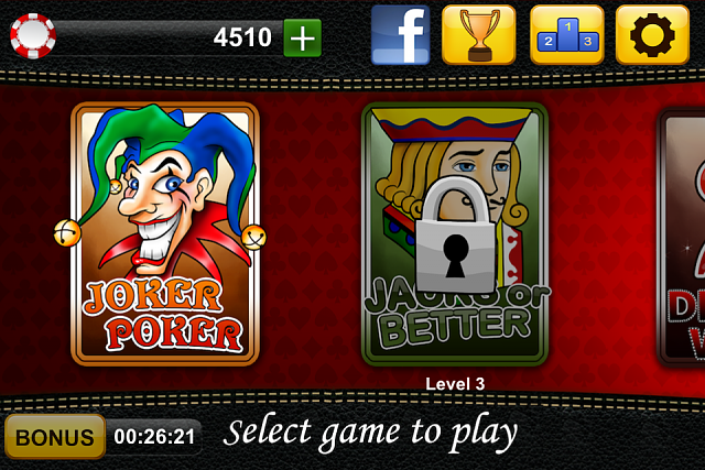 Video Poker Jackpot - iPhone/ iPad game-video-poker-jackot-1.png