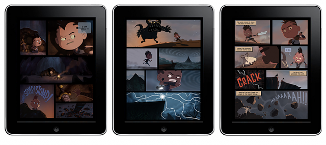 The first fully animated 2d Comic book only on iPad!-screenshots.png