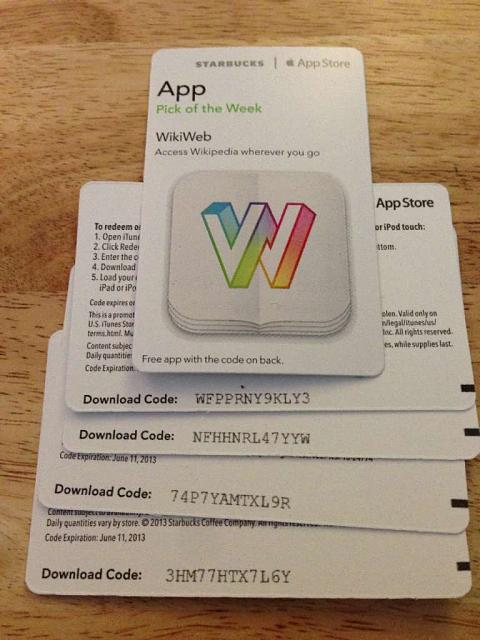 WikiWeb promo codes courtesy of Starbucks App of the Week-imageuploadedbytapatalk-21364160026.903819.jpg