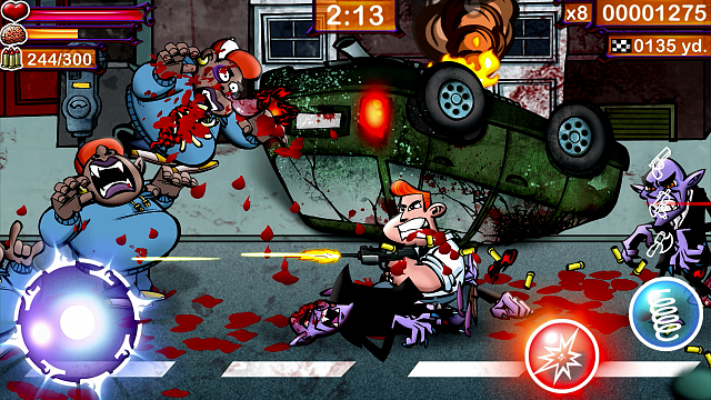 Fangz - the best 2d beat'em/shoot'em up in the App Stores!-06.png