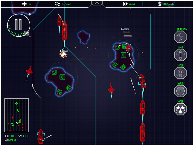 Coastal Command - Strategy game for iPad-battle.png
