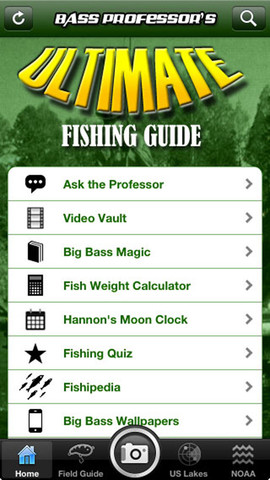 Ultimate fishing guide the best fishing app in the app for Best fishing apps for iphone