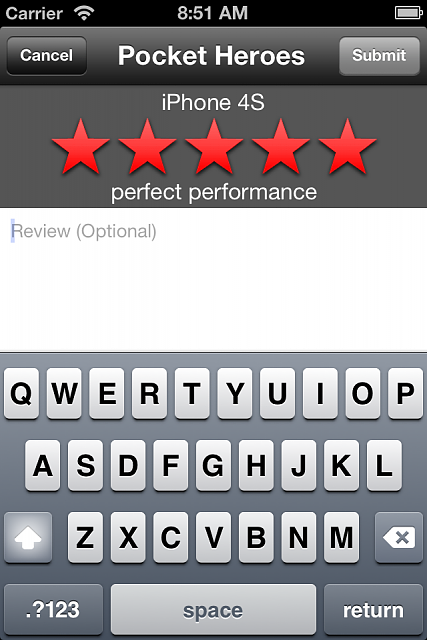 TestRun [free app]: rate how apps run on *your* device-3.5-4-add-rating.png