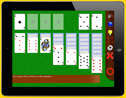 Solitaire Whizz: New solitaire compendium for iPad-klondike-sm.jpg