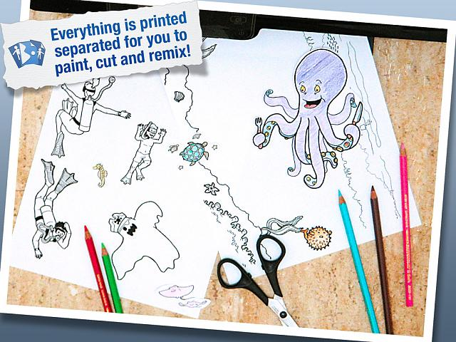 [New app for kids] MixPrintPaint - Create your own coloring book on the iPad and paint it on paper-5-printtoplay.jpg