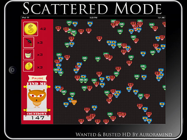 [New FREE iPad App] Wanted & Busted in HD!-scattered.png