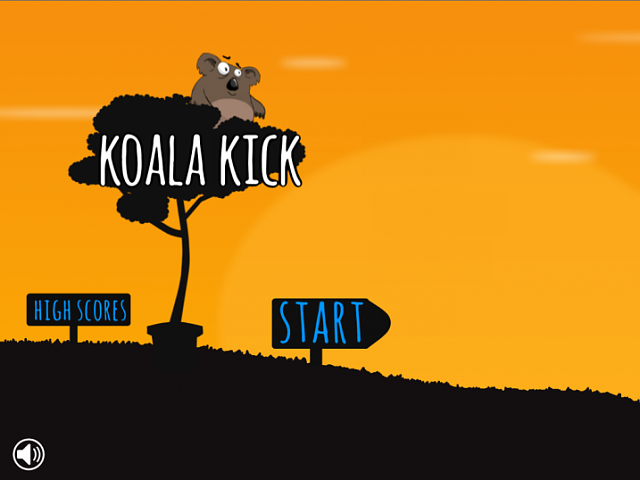 Koala Kick - A cute new game released for iPhone/iPad