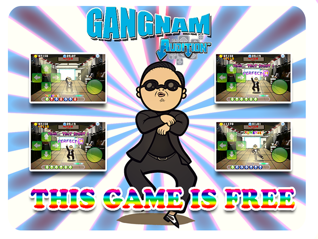 play gangnam style games online free