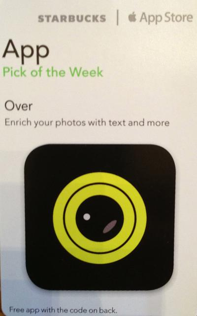 Over promo codes courtesy of Starbucks App of the Week-img_1242.jpg