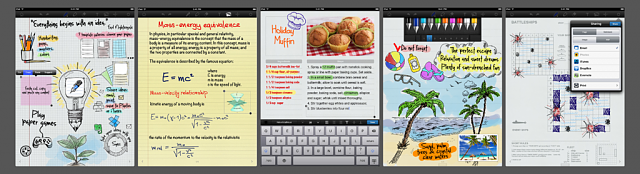 The new version of Notespad by Apalon is available: faster, smoother and easier than ever-top_app_screens.png